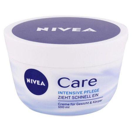 NIVEA krém na tvár a telo Care 100 ml