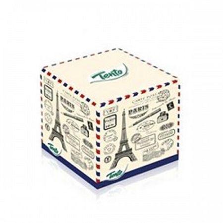 Tento papierové vreckovky Box eiffelovka 58 ks