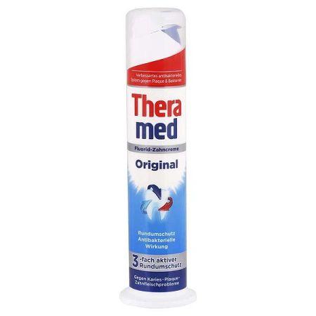 THERAMED Original 3x účinnejšia zubná pasta na ochranu proti zubnému kazu 100 ml