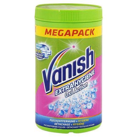 VANISH Extra Hygiene Oxi Action práškový odstraňovač škvŕn 1,5 kg