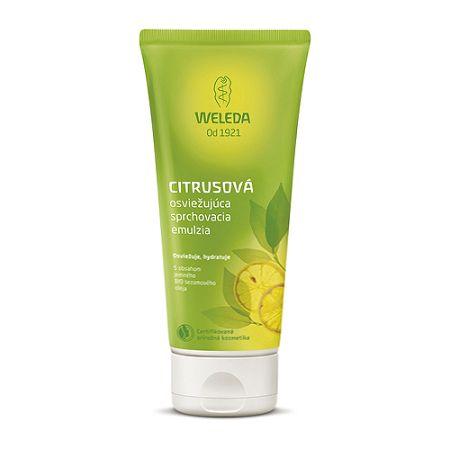 Weleda citrusová osviežujúca sprchovacia emulzia 200 ml